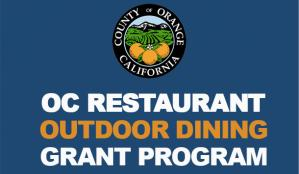 Restaurant Outdoor Dining Grant Graphic